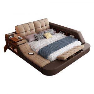 تختخواب آپشنال داتیس مدل لوگانو سایز ۲۰۰ در ۲۰۰ سانتیمتر