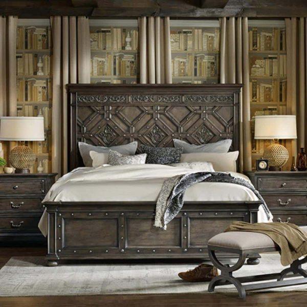 تختخواب کلاسیک کاتریا