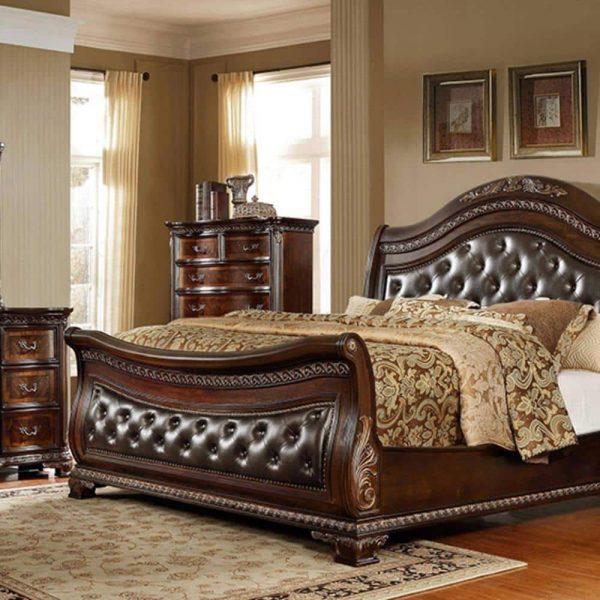تختخواب کلاسیک فلوری