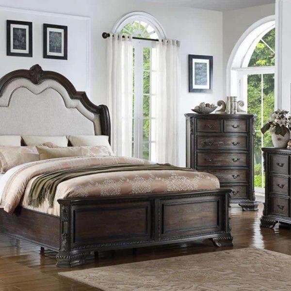 تختخواب کلاسیک نادی