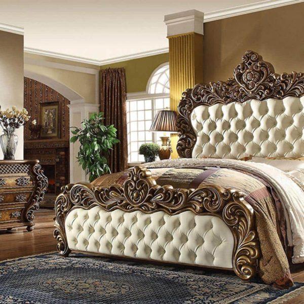 تختخواب کلاسیک اولیور