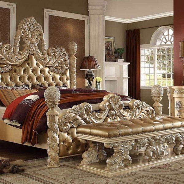 تختخواب کلاسیک فابین