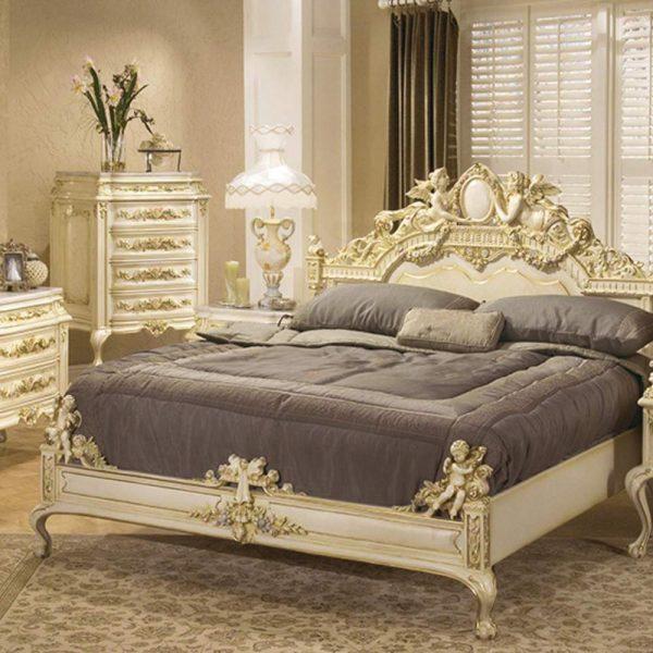 تختخواب کلاسیک نیکول