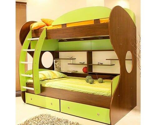 تختخواب ام دی اف دو طبقه
