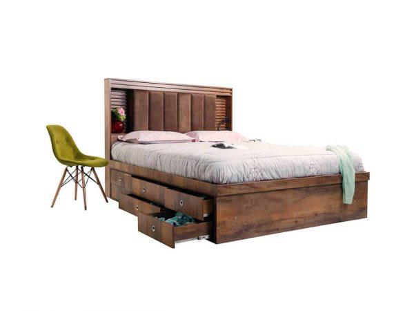 سرویس خواب دو نفره بلج مدل روژان