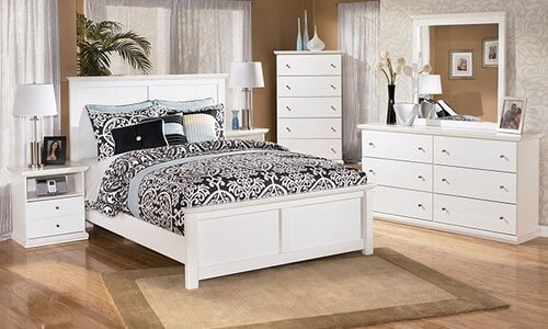 تختخواب چوبی