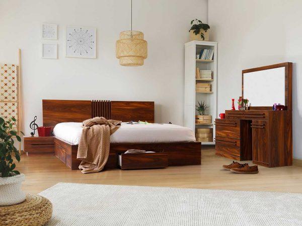 سرویس خواب دونفره بلج مدل الوند سایز ۱۶۰ در ۲۰۰ سانتیمتر