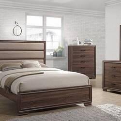 تخت خواب قهوه ای رنگ